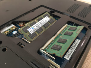 instalacja pamięci ram