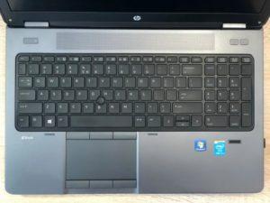 HP ZBook 15 i7-4800MQ 16GB 240GB SSD K2100M FullHD